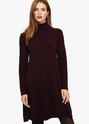 Phase Eight Melody Fleck Swing Knitted Tunic
