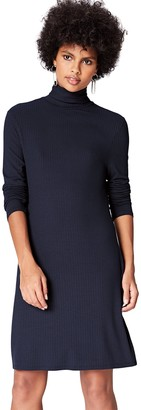 Find. Amazon Brand Women's Rib Swing Long Sleeve Dress