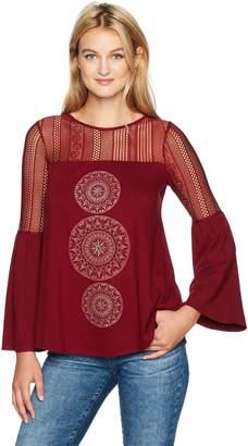 Desigual womens Ts_neusifu Neusifu Woman Knitted Long Sleeve T-shirt Long Sleeve T-Shirt