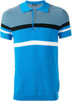 Diesel striped polo shirt - men - Cotton - XL
