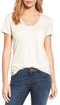 Women's Caslon Rounded V-Neck Tee
