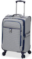 "London Fog Oxford Hyperlight 21"" Expandable Spinner Carry-On Suitcase"