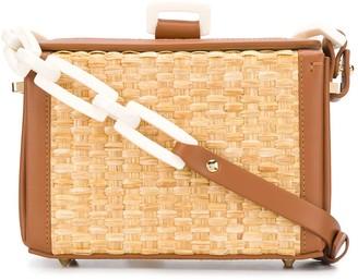 Nico Giani Woven Chunky Chain Bag