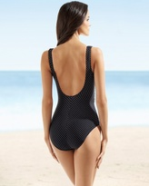 Miraclesuit Pin Point Sandra D One Piece Swimsuit