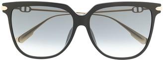 Christian Dior Tinted Lens Wayfarer Sunglasses