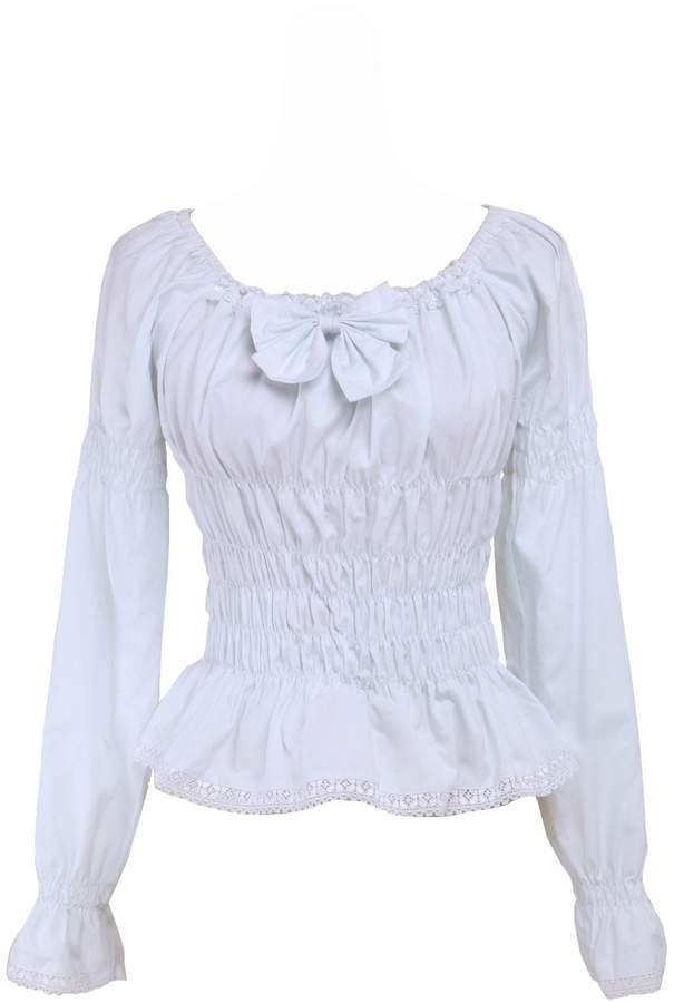 d34b735f987286 Victorian Lace Blouse - ShopStyle Canada