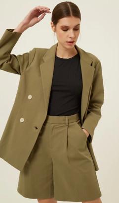 Jovonna London Yuri Jacket - XS | cream - Cream/Khaki
