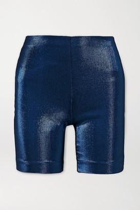 Area Lame Shorts - Navy