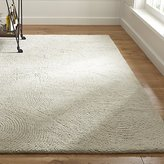 Crate & Barrel Alfredo Ivory Wool Rug