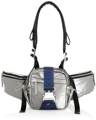 MCM Mini Jemison Nylon Crossbody Bag