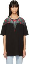 Marcelo Burlon County of Milan Black Lonco T-shirt