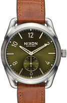 Nixon Sand C39 Gator Leather Watch