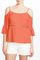 1 STATE 1.State Cold Shoulder Peasant Shirt