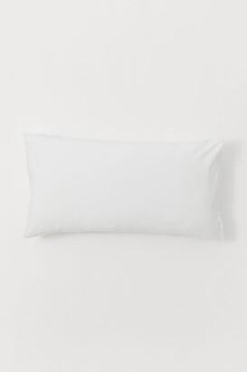 H&M Cotton Pillowcase - White