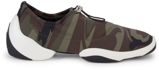 Giuseppe Zanotti Camouflage Low-Top Sneakers