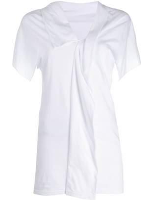 Yohji Yamamoto layered T-shirt