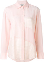 Paul & Joe patchwork shirt - women - Silk/Viscose - 1