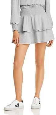 Aqua Smocked Ruffle Mini Skirt - 100% Exclusive