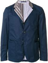 Marni crinkled college blazer