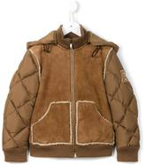 Fendi quilted sheepskin jacket