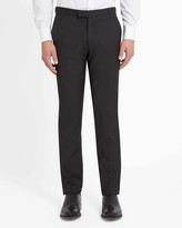 Jaeger Wool And Mohair Mix Tuxedo Trousers