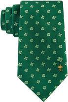 Asstd National Brand Peanuts Woven Shamrock Tie