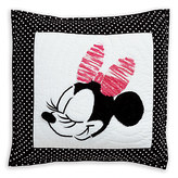 Disney Minnie Mouse Mad About Minnie Pillow by Ethan Allen