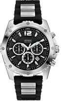 GUESS Mens Silvertone Chronograph Watch