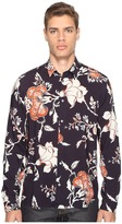 McQ by Alexander McQueen Sheehan Floral Button Up Men's Clothing