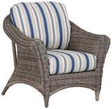 Sunset West La Costa Club Chair - Ivory/Blue