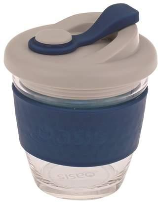Oasis Eco-Cup Borosilicate Glass Navy 227ml