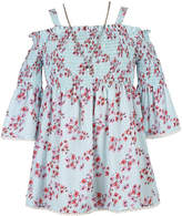 Speechless 3/4 Sleeve Floral Peasant Top - Girls' 7-16