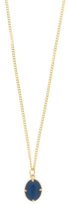 Miansai Portal Gold-vermeil Pendant Necklace - Blue