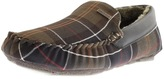 Barbour Monty Tartan Slippers Green