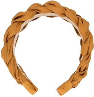 Jennifer Behr Lorelei silk headband