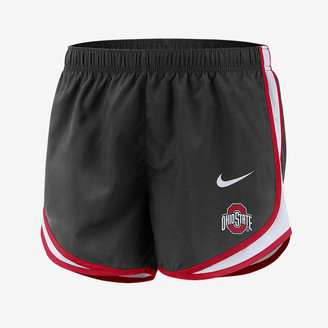 Nike Women's Shorts College Dri-FIT Tempo (Ohio State)