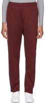 Acne Studios Burgundy Norwich Face Lounge Pants