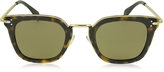 Celine VIC CL 41402/S Acetate and Gold Metal Cat Eye Women's Sunglasses