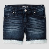 Cat & Jack Girls' Jean Shorts Cat & Jack - Dark Blue