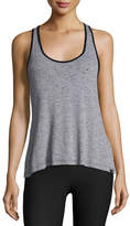 Koral Activewear Ferocity Twist-Back Jersey Sports Tank