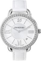 Swarovski Women's Swiss Aila Daytime Crystal Accent Leather Strap Watch 37mm 5095938