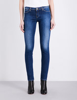 Armani Jeans Faded skinny mid-rise jeans