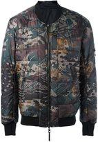 11 By Boris Bidjan Saberi reversible bomber jacket