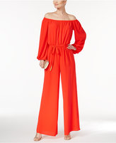 Vince Camuto Off-The-Shoulder Jumpsuit