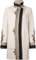 Etro embroidered pattern sports coat