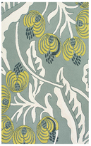 Thomas Paul Flora Indoor/Outdoor Hand-Hooked Rug