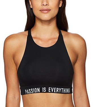 good hYOUman Women's Paltrow Passion is Everything Athletic Hi Neck Sports Bra