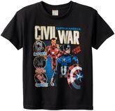 Boys 8-20 Marvel Captain America: Civil War Brothers Tee