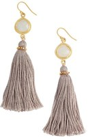 Chan Luu Statement Fringe Earrings