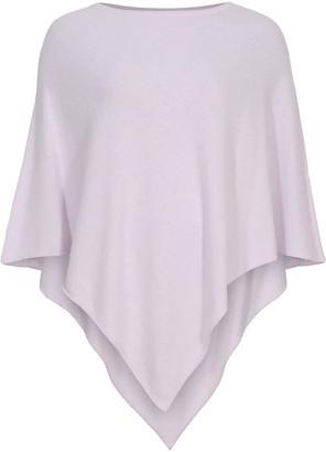 Tif Tiffy - Soft Pink Wool Pulse Poncho - wool | soft pink - Soft pink